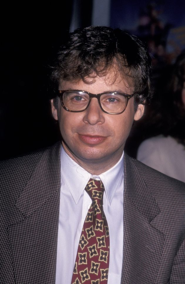 Actor Rick Moranis attends the premiere of The Flintstones on May 23, 1994 at the Ziegfeld Theater in...