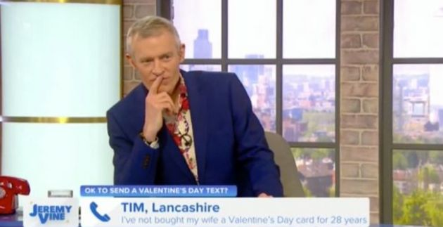 Jeremy Vine Branded A C*** By Caller Live On His Channel 5 Show