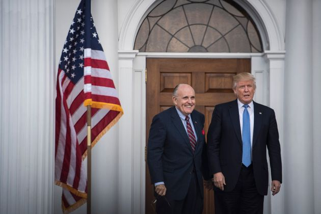 Trump Admits He Sent Rudy Giuliani To Ukraine After Denying It