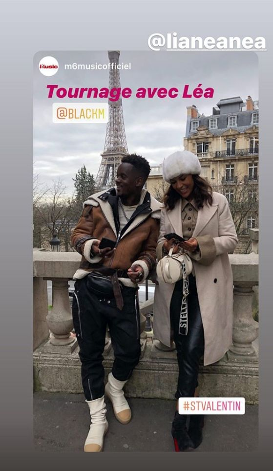 Black M a tourné son clip pour son single