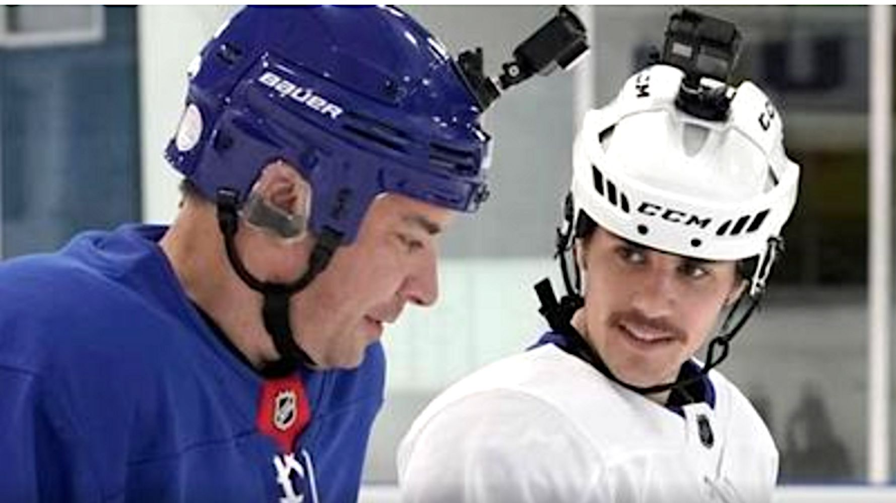 Justin Bieber Teaches Hockey To Jimmy Fallon. It Doesn't Go Well.