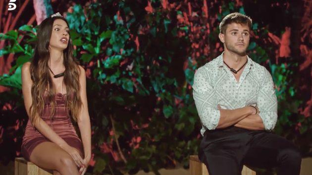 Ismael y Andrea, en la hoguera final de 'La isla de las