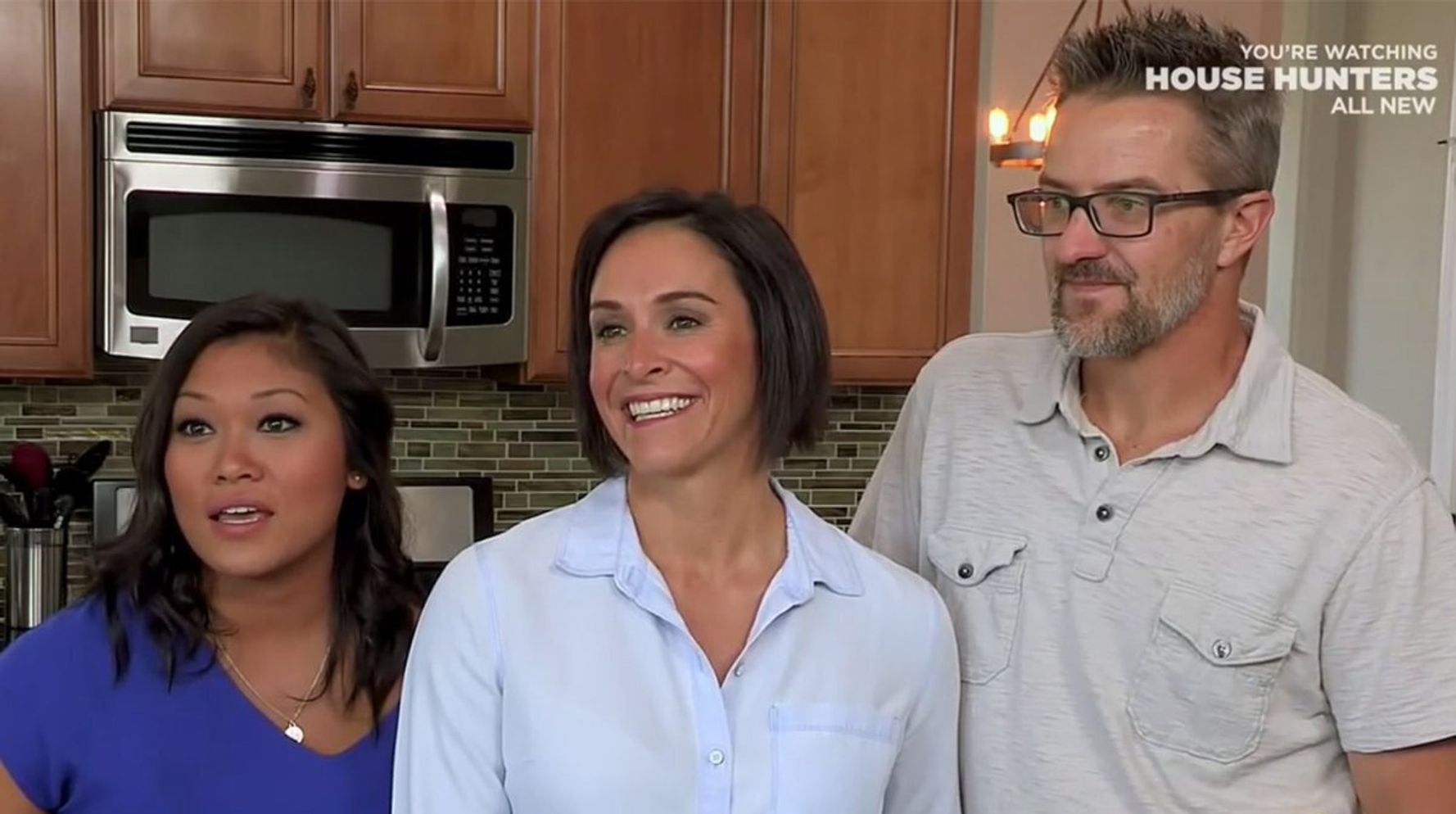 People Are Obsessed With The Throuple That Appeared On 'House Hunters'