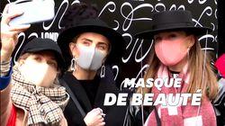 À la Fashion week de Londres, les masques médicaux sont chic comme