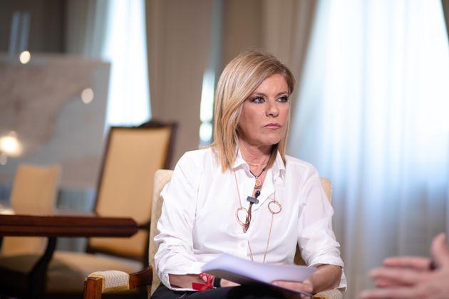 Esther Palomera, durante una entrevista para 'El