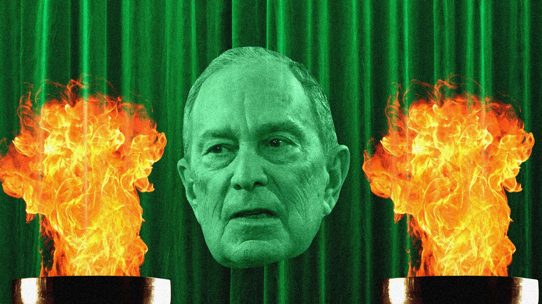 Mike Bloomberg's 'Wizard Of Oz' Campaign Hid His Record Behind The Curtain