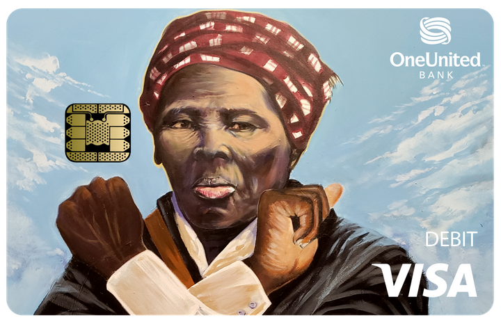 OneUnited Bank releases a Harriet Tubman debit card in honor of Black History Month.