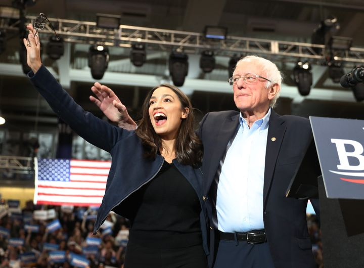 Rep. Alexandria Ocasio-Cortez (D-N.Y) says Medicare for All may not have the votes to pass right away, but pushing for it, as