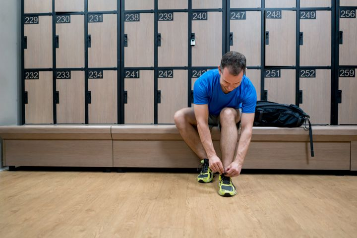 Locker room conduct is a big part of gym etiquette.