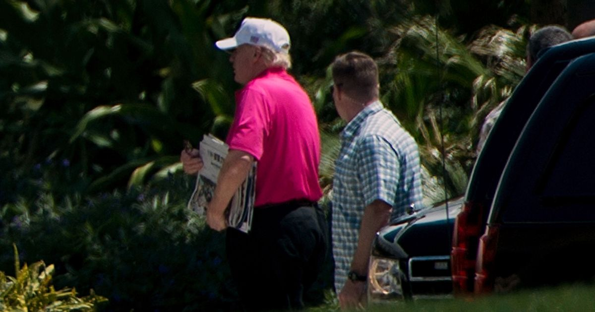 Trump's 29th Trip To Mar-a-Lago Brings Golf Tab To 334 Years Of Presidential Salary