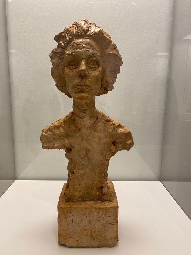 Alberto Giacometti, 'Buste d'Annette VII' (Busto de Annette VII), 1962.