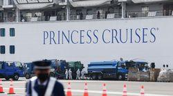 미국이 일본 크루즈선에서 자국민을 구출할