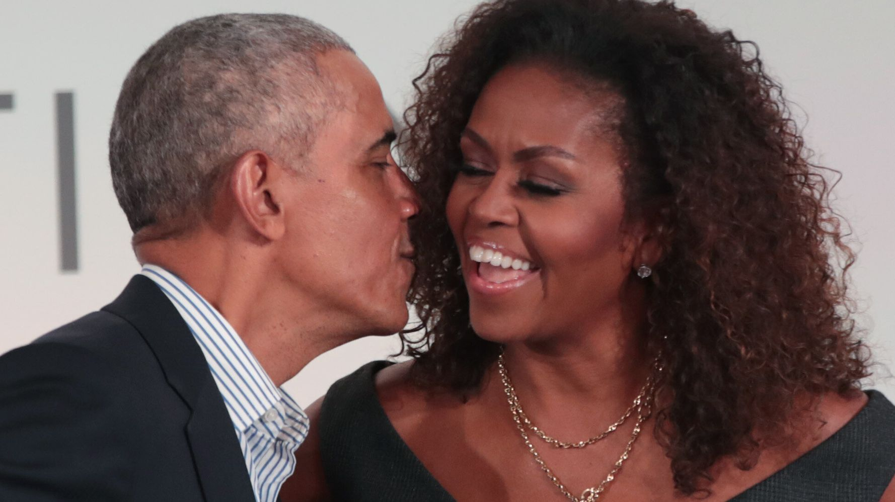 Westlake Legal Group 5e47c3902200003200d1cfb6 Snow Angels And Dancing: Obamas Celebrate Valentine's Day With Sweet Pictures