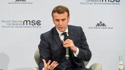 À Munich, Macron impatient demande des
