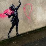 Banksy Valentine's-Inspired Artwork Destroyed By Vandals With Explicit
