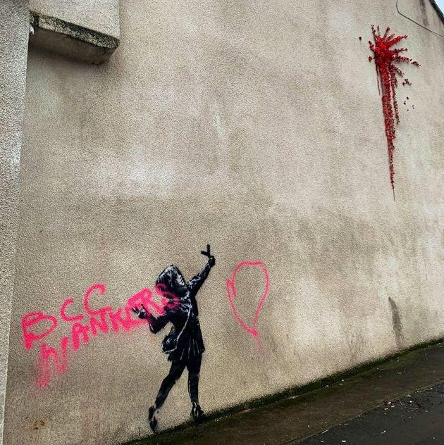 Banksy Valentine's artwork