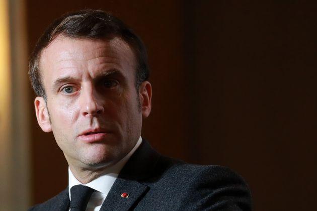 Macron (ici le 13 février 2020) pense que la Russie va continué à