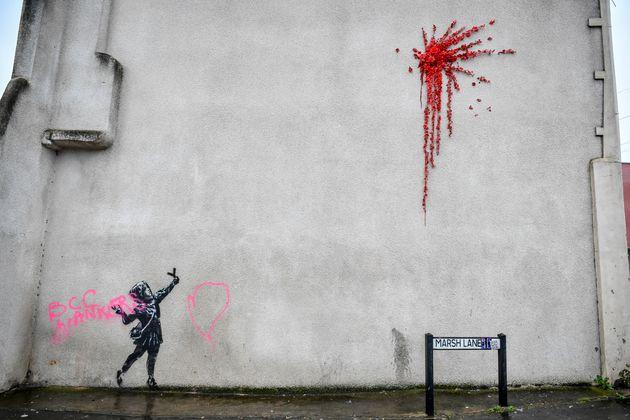 Βανδάλισαν το έργο του Banksy για τον Άγιο