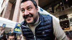Salvini rilancia la campagna d'Europa.