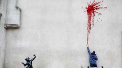 Le Banksy réalisé à Bristol pour la Saint-Valentin