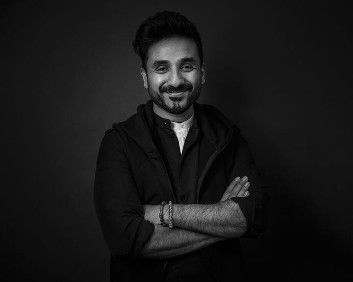 In this Monday, April 29, 2019 photo, Vir Das poses for a portrait in New York. (Photo by Christopher Smith/Invision/AP)
