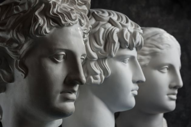 copy of ancient statue of Apollo, Antinous and