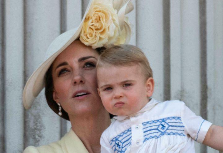Laduchesse de Cambridge et le prince Louis en juin 2019 (photo d'illustration)