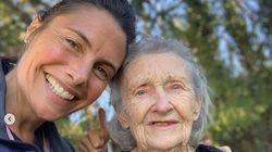 Alessandra Sublet vous présente sa mamie de 92