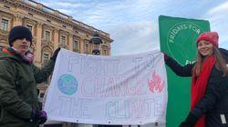 学校休んで、気候危機訴える。 スウェーデンの学生デモ Fridays for