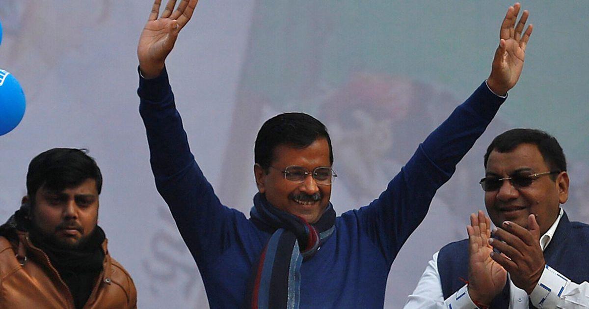 Kejriwal Takes Oath As Delhi CM, Declares Dawn Of A New Politics Of Work