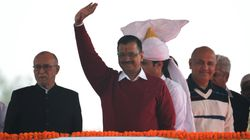 Kejriwal Takes Oath As Delhi CM, Declares Dawn Of A New Politics Of