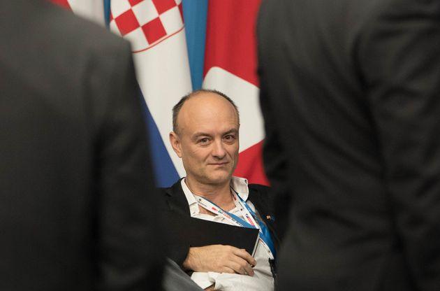 Sabisky reports to Boris Johnson's senior adviser, Dominic