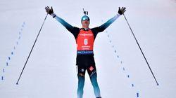 Le Français Emilien Jacquelin champion du monde de la poursuite en