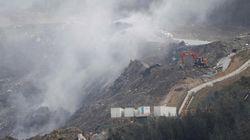 Los ertzainas que han participado en el rescate en el vertedero de Zaldibar han estado expuestos a