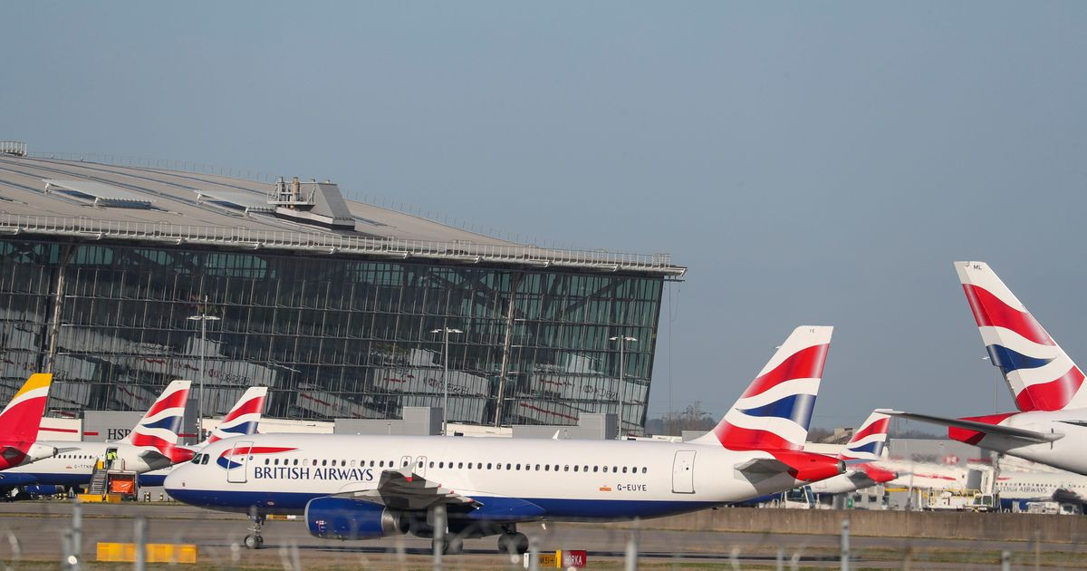 Heathrow Airport 'Chaos' As IT Failure Causes Cancelled Flights