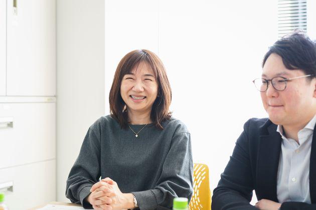 「どんどん体験を伝えたい」と笑顔で話す島田さん