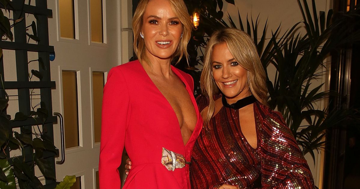 Amanda Holden Says Caroline Flack Was 'Thrown To The Dogs' As She Hits Out At Treatment Of Love Island Star