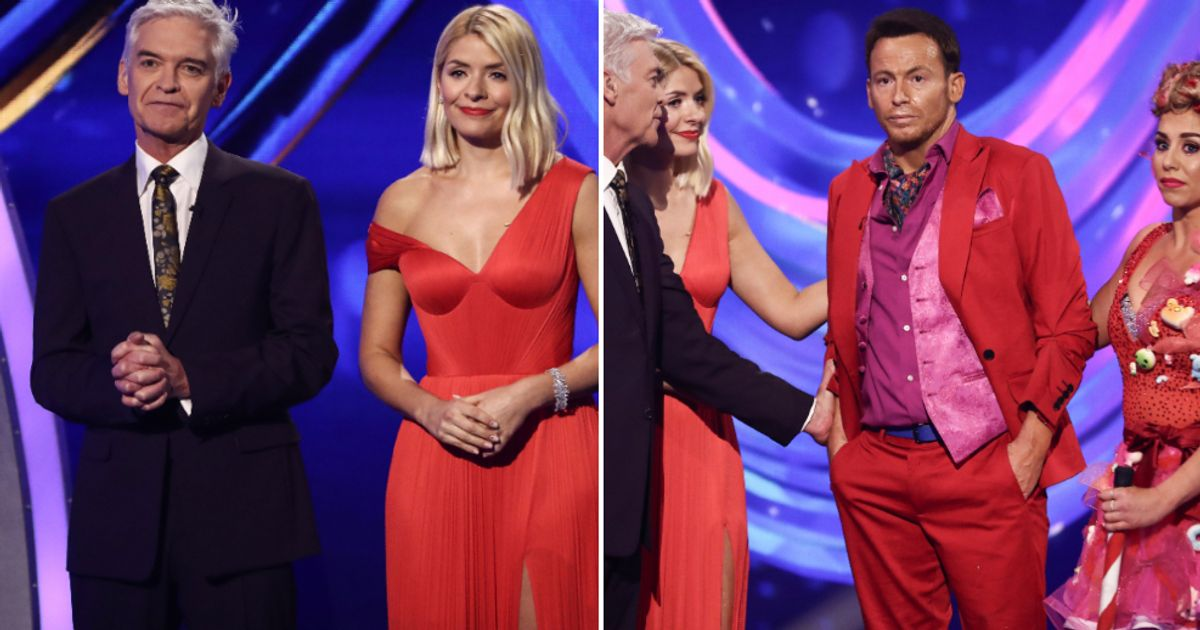Caroline Flack Remembered By Dancing On Ice Hosts, As Contestant Joe Swash Fights Back Tears