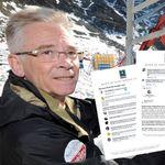 Ce maire a reçu des centaines d'insultes sur Facebook après la visite de