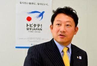 トビタテ!留学JAPANでは、プロジェクト・ディレクターを務めている