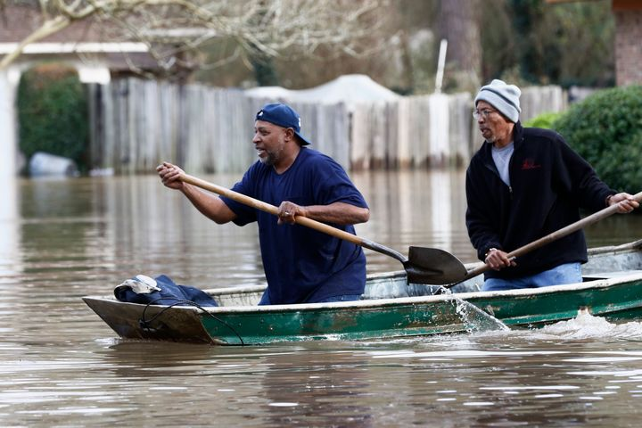 Authorities believe the flooding will rank as third-highest, behind the historic floods of 1979 and 1983.