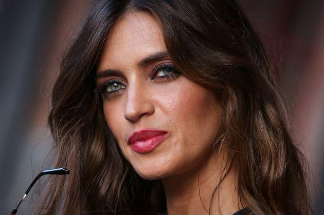 Sara Carbonero, fotografiada en un evento en Madrid el 11 de abril de