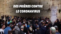 À Jérusalem, des prières contre le coronavirus au Mur des