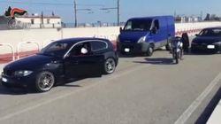 Carabinieri irrompono durante l'assalto a un portavalori. Ma era il video di un