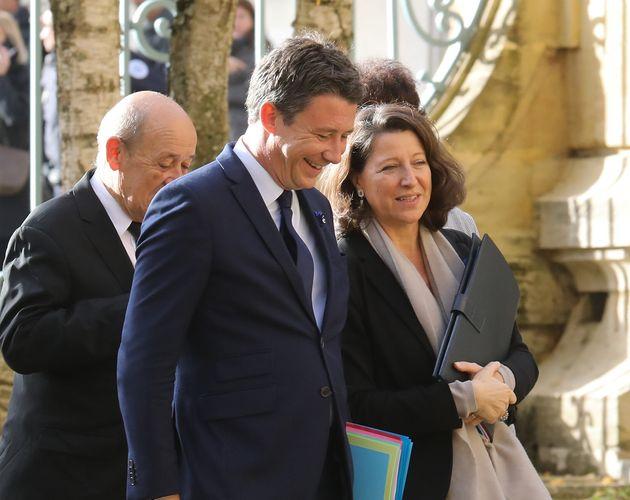 Image d'illustration - Benjamin Griveaux et Agnès Buzyn au gouvernement, le 7 novembre