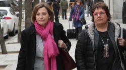 Carme Forcadell y Dolors Bassa salen de prisión con permiso penitenciario para cuidar de sus