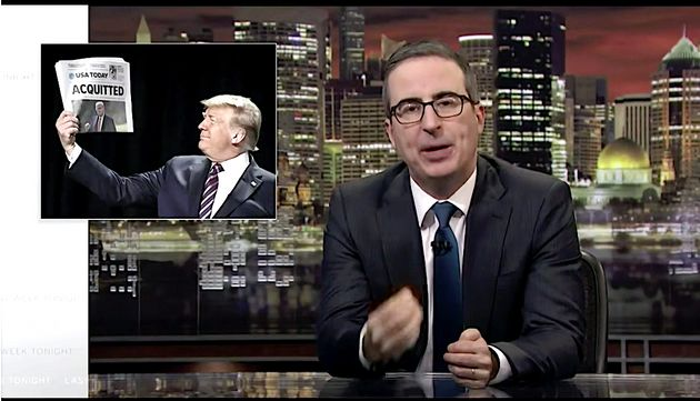 John Oliver Returns In Top Form To Trash Donald Trump And