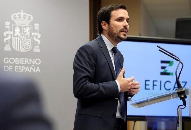 El ministro de Consumo, Alberto
