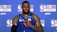 LeBron James Auf Kobe Bryant 'Präsenz' Bei All-Star-Spiel: