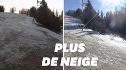 Privée de neige en pleines vacances, cette station de ski ferme ses